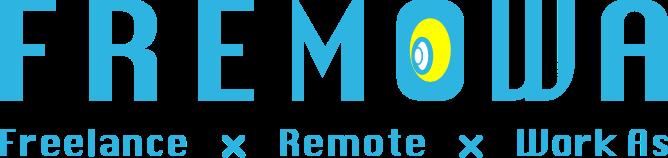 FREMOWAロゴ Freelance & Remote & Works As